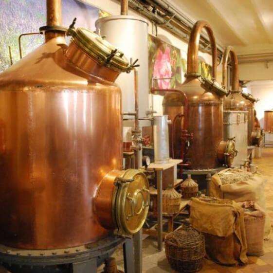 cuve de l'usine - Galimard parfumeur à Grasse