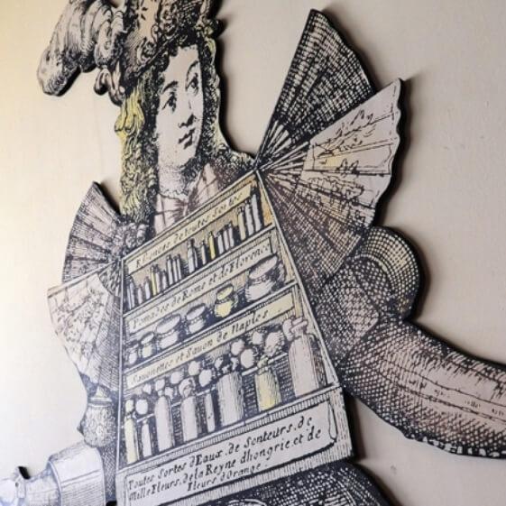 pencarte d'archive - Galimard parfumeur à Grasse
