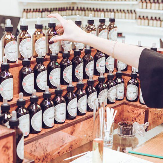 Choisir une fragrance - Atelier - Galimard parfumeur à Grasse