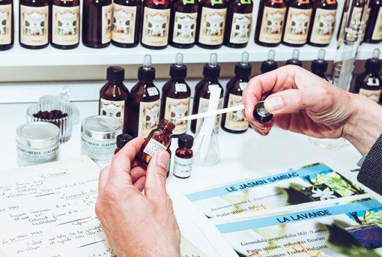 Atelier de haute parfumerie - Galimard parfumeur à Grasse