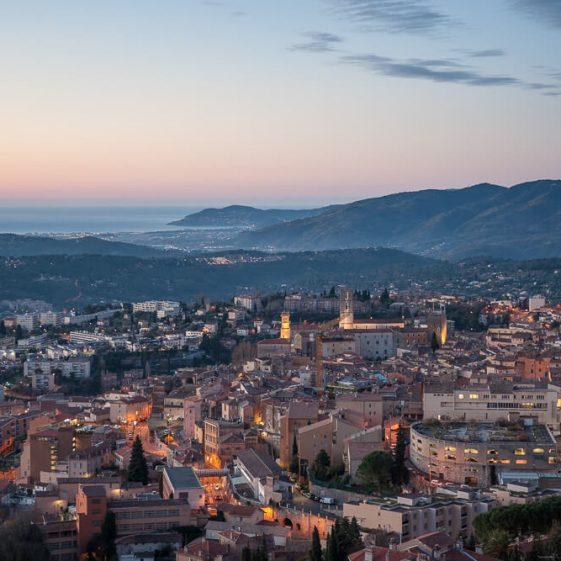 Grasse et la baie de Cannes - Galimard parfumeur à Grasse
