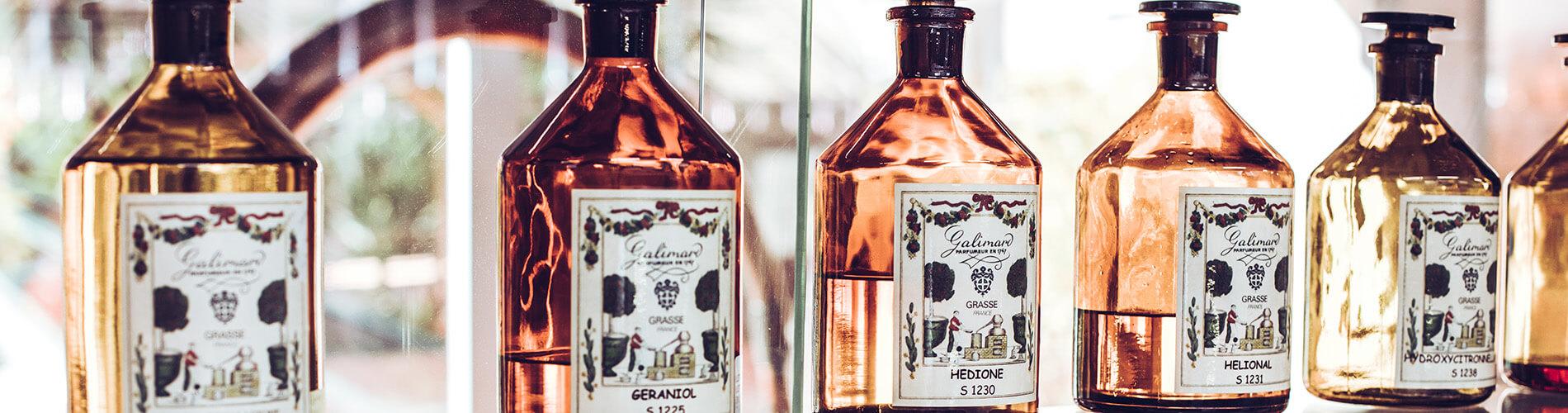 Flacons de fragrances - Galimard parfumeur à Grasse