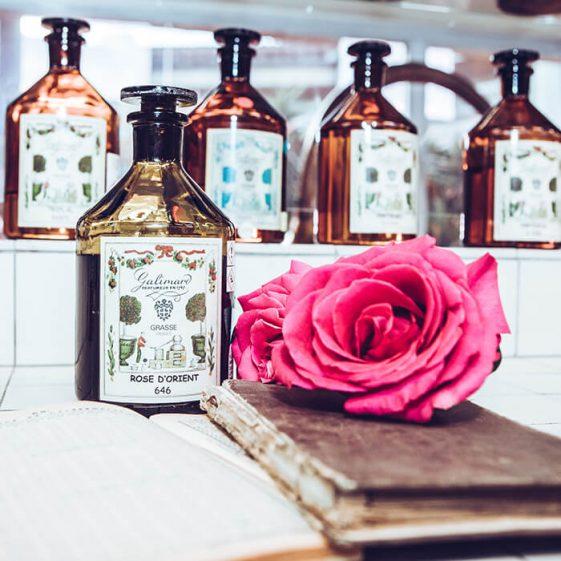 Parfum rose d'orient - Galimard parfumeur à Grasse