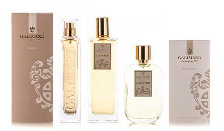 Gamme À demi-mot - Galimard, parfumeur à Grasse