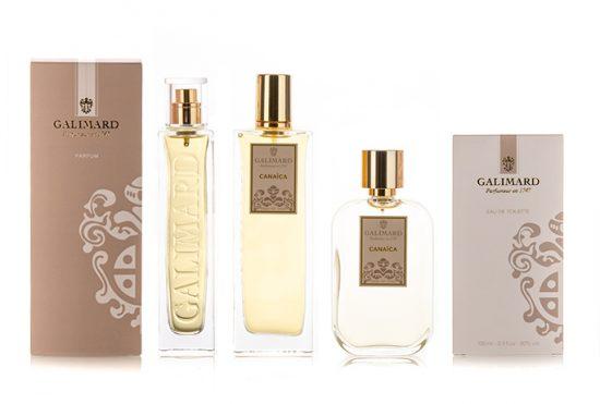 Gamme Canaica - Galimard, parfumeur à Grasse