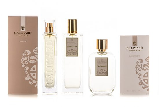 Gamme Cantabelle - Galimard, parfumeur à Grasse