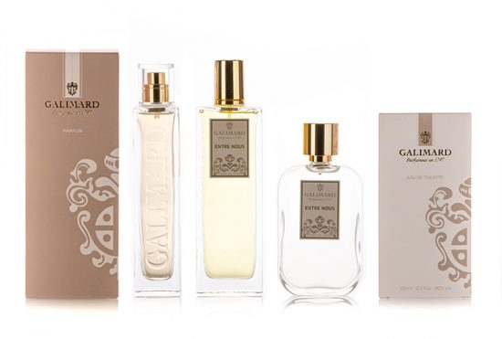 Gamme Entre nous - Galimard, parfumeur à Grasse