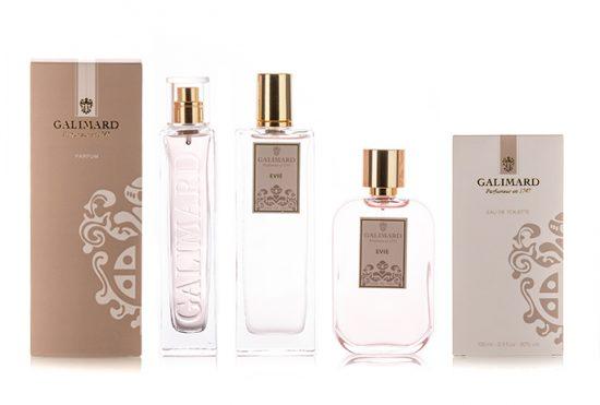 Gamme Evie - Galimard, parfumeur à Grasse