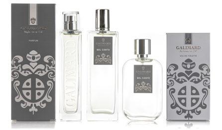 Parfumeur Galimard - gamme de parfum bel canto