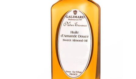 Huile d'Amande Douce- Galimard, parfumeur à Grasse