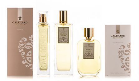 Gamme Journal intime - Galimard, parfumeur à Grasse