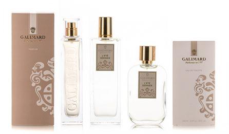 Gamme L'été dernier - Galimard, parfumeur à Grasse