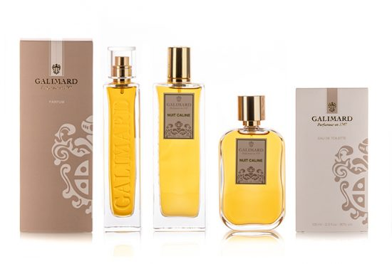 Gamme Nuit Caline - Galimard, parfumeur à Grasse