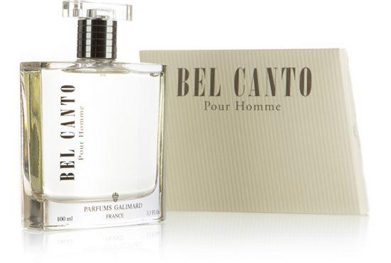 Eau de parfum Bel Canto- Galimard parfumeur à Grasse