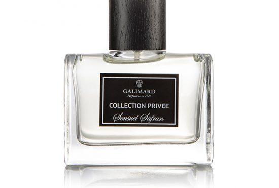 Collection privée Sensuel Safran- Galimard parfumeur à Grasse