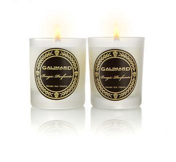 Photographie de 2 bougies parfumées - Galimard