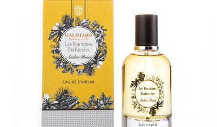 Les Fontaines Parfumées - Ambre Boisé - Galimard parfumeur à Grasse