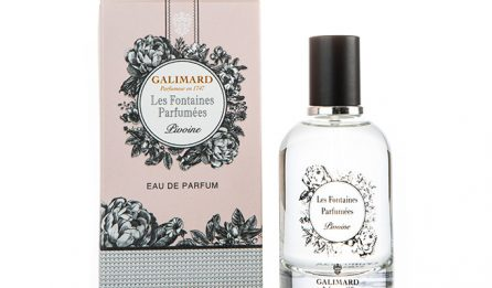 Les Fontaines Parfumées - Pivoine - Galimard parfumeur à Grasse