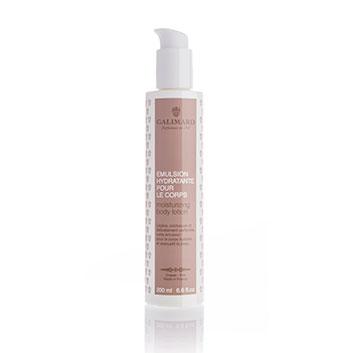 Emulsion hydratante pour le corps - Flacon 200ml - Galimard, parfumeur à Grasse