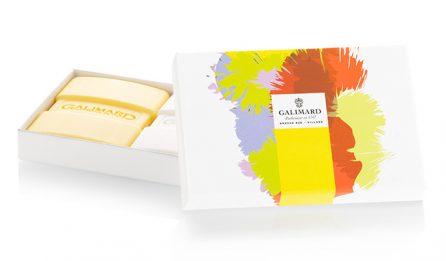 Coffret 2 savons jasmin et mimosa - Galimard, parfumeur à Grasse