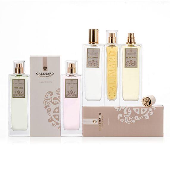 Gamme de Parfums Femme - Galimard, parfumeur à Grasse