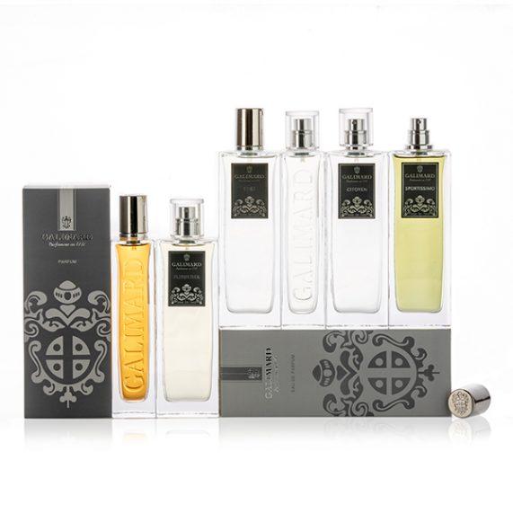 Gamme de Parfums Homme - Galimard, parfumeur à Grasse