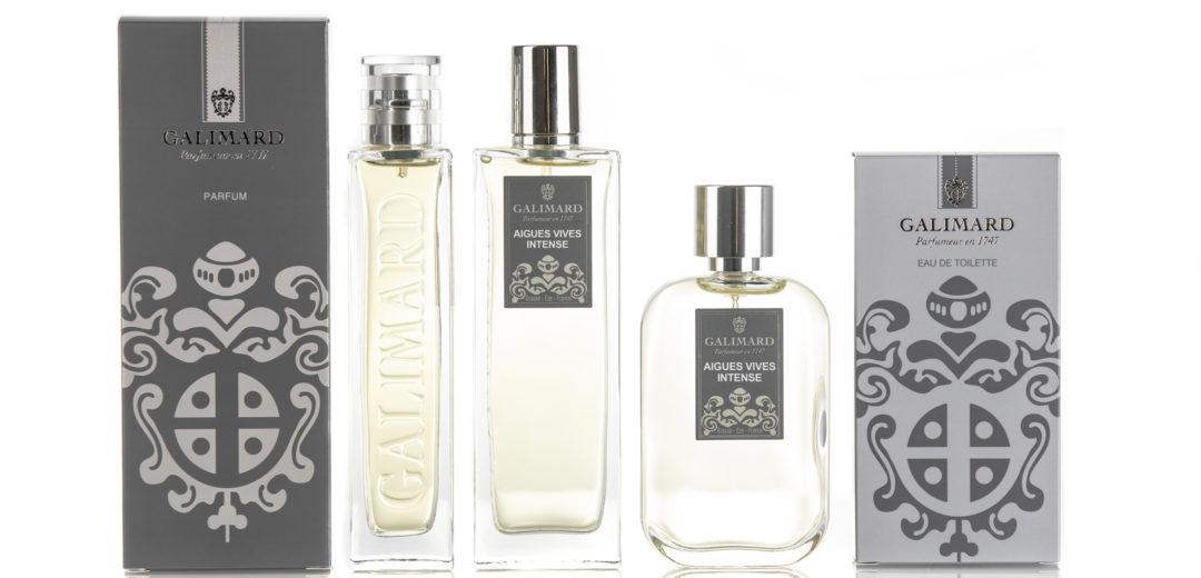 Parfumeur Galimard - gamme de parfum d'aigues vives